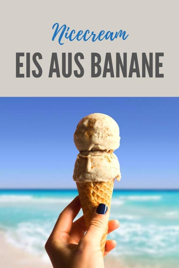 Bild zum Rezept Nicecream Eis aus Banane