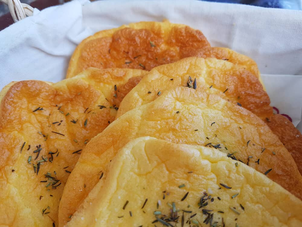 Cloud-Bread Foccacia-Style