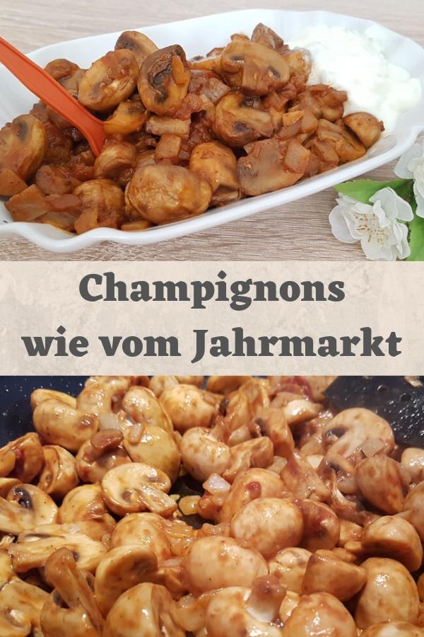 Champignons wie vom Jahrmarkt