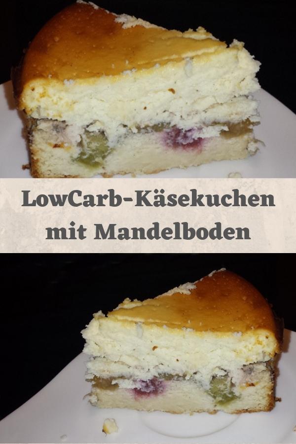 LowCarb Käsekuchen Pin