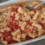 Baked Feta Pasta in der Auflaufform
