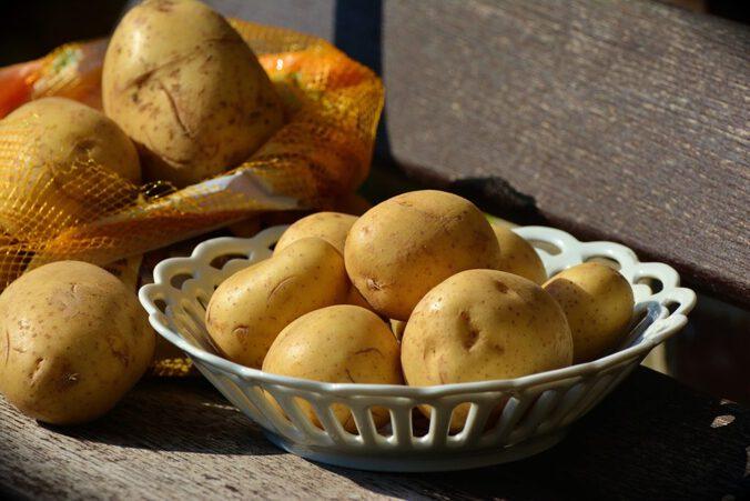Kartoffeln, stehen auch auf meiner Low Carb Einkaufsliste