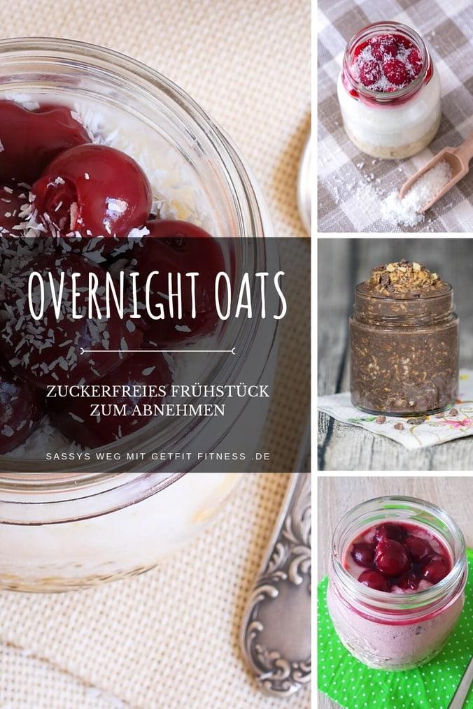 Die besten Overnight Oats Rezepte ohne Zucker